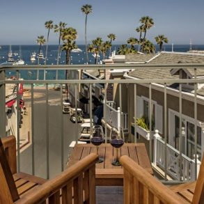 Avalon Hotel - Room 201 - Balcony View