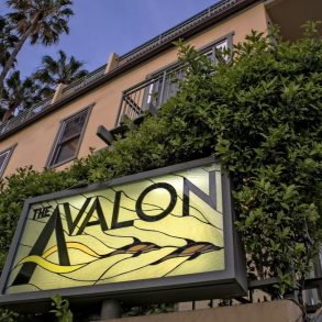 Avalon Hotel Sign - Exterior