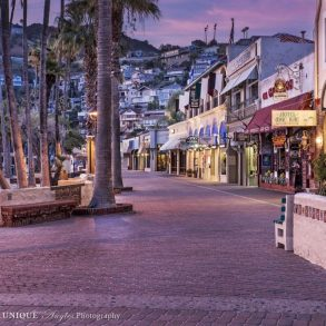 Avalon Boardwalk at Sunrise