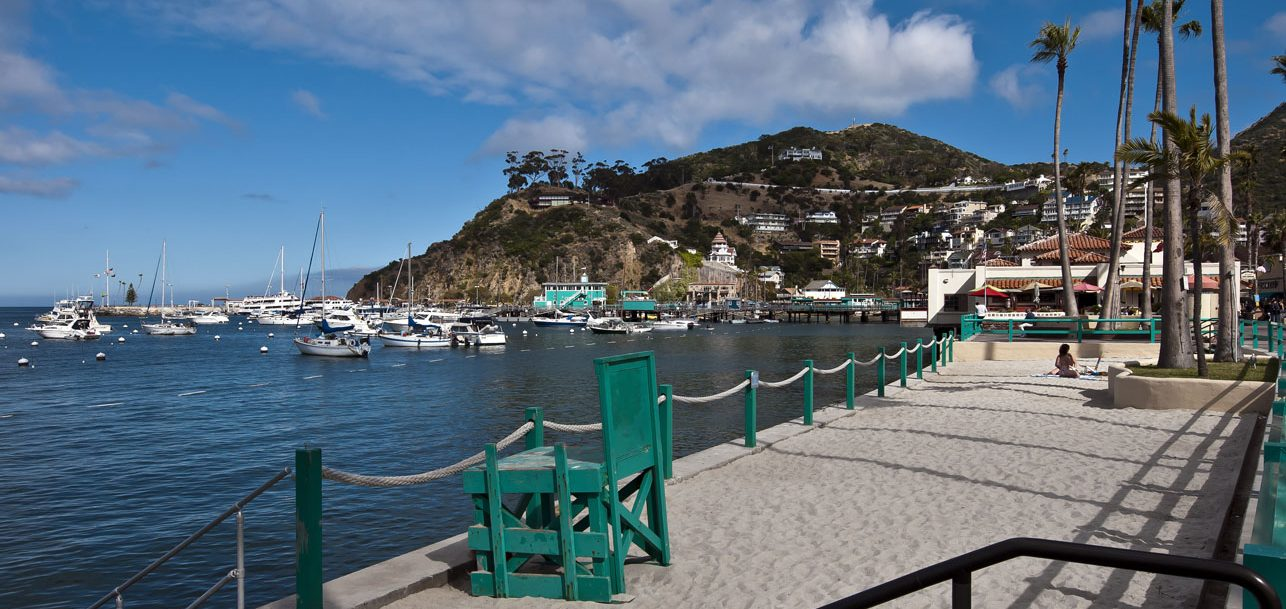 Avalon Hotel is close to the beach on Catalina Island